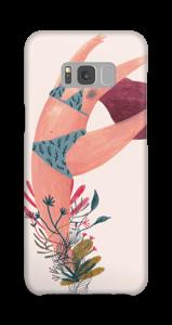 Danse fleurie Coque  Galaxy S8 Plus