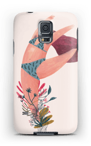 Blooming dancer case Galaxy S5