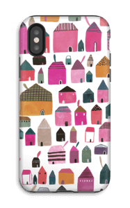 Spotting Houses case IPhone X tough
