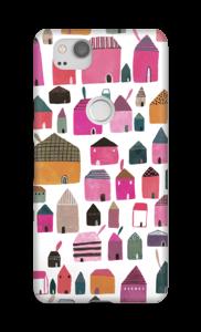 Häuser Handyhülle Pixel 2