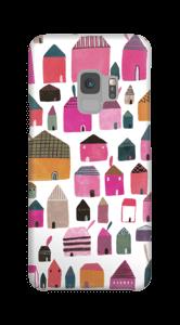 Häuser Handyhülle Galaxy S9
