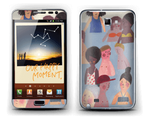 Summer people Skin Galaxy Note