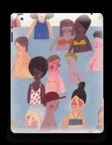 Summer people  Skin IPad 4/3/2