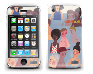 Summer people  Skin IPhone 3G/3GS
