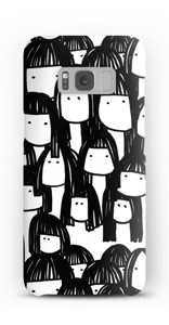 Kompisarna skal Galaxy S8