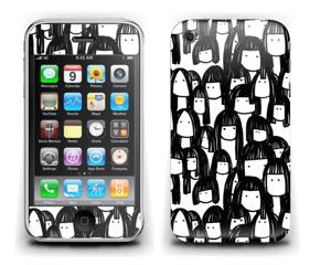 Friend Skin IPhone 3G/3GS