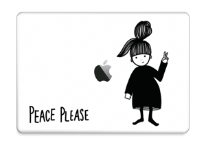 "Peace Please Vinilo  MacBook Pro 13"" 2016-"