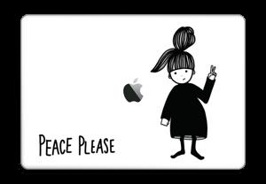 Peace please Skin MacBook Pro Touch Bar 15