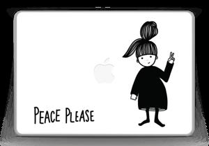 "Please Peace Skin MacBook Pro 13"" -2015"