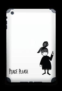 Please Peace Skin IPad mini 2 back