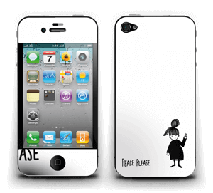 Peace please Skin IPhone 4/4s