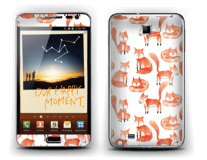 Fox Skin Galaxy Note