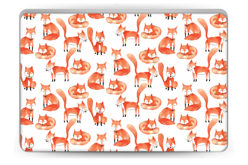 Foxes Skin Laptop 15.6