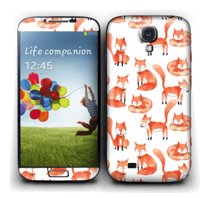 Foxes Skin Galaxy S4