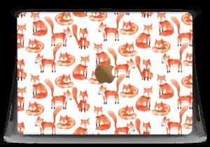 "Foxes Skin MacBook 12"""