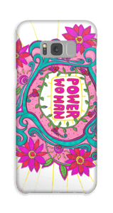 Power Woman deksel Galaxy S8 Plus