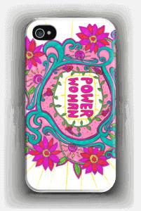 Power Woman deksel IPhone 4/4s