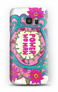 Power woman case for your phone