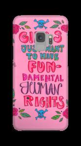 Menschenrechte Handyhülle Galaxy S9