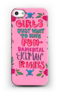 FUNdamental human rights Coque  IPhone 5/5S