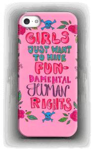 Fundamental human rights hoesje IPhone SE
