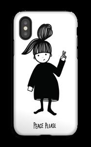 Peace please deksel IPhone X tough