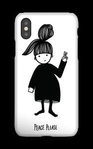 Peace please deksel IPhone XS