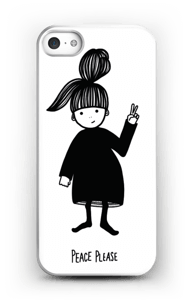 Peace please Coque  IPhone 5/5S