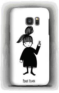 平和をください ケース Galaxy S7