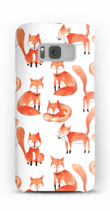 Foxes case Galaxy S8