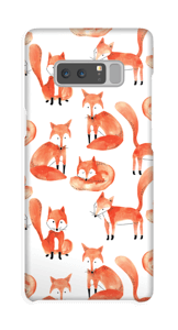 Foxes case Galaxy Note8