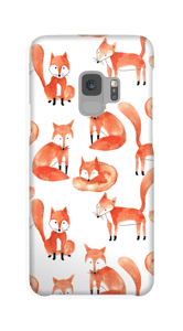 Foxes case Galaxy S9