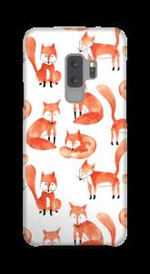 Foxes case Galaxy S9 Plus