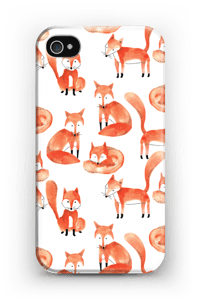 Foxes case IPhone 4/4s