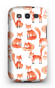 Foxes case Galaxy S3