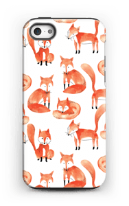 Foxes case IPhone 5/5s tough