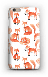 Foxes case IPhone 6 Plus
