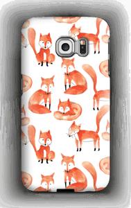 Foxes case Galaxy S6 Edge