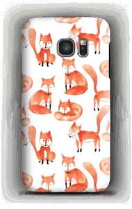 キツネ ケース Galaxy S7