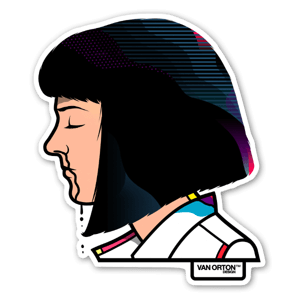 Mia sticker