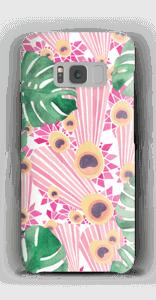 Pinkki riikinkukko kuoret Galaxy S8
