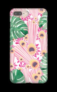 Pinkki riikinkukko kuoret IPhone 8 Plus
