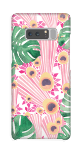 Pink peacock case