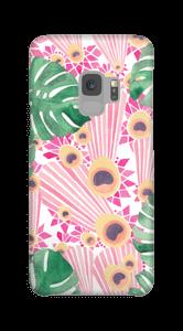 クジャク ピンク ケース Galaxy S9