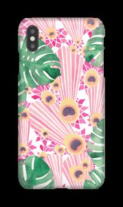 Pinkki riikinkukko kuoret IPhone XS Max