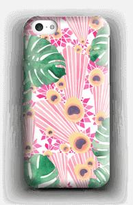 Pinkki riikinkukko kuoret IPhone 5c