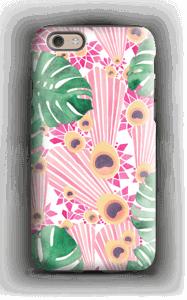 Pinkki riikinkukko kuoret IPhone 6 tough