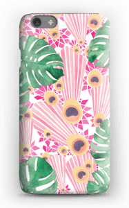 Plantes & plumes roses Coque  IPhone 6s