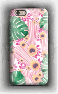 Pinkki riikinkukko kuoret IPhone 6s tough