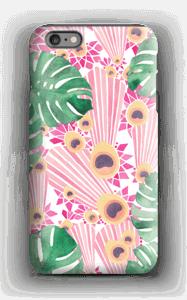 Pinkki riikinkukko kuoret IPhone 6s Plus tough